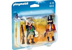 Playmobil 5512 - PLAYMOBIL Duo Shérif et bandit [1]